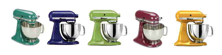 artisan colors j KitchenAids Artisan Stand Mixer; What you should know before you buy