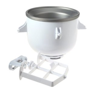 ice cream maker attachment1 KitchenAid Mixer Ice Cream Maker Attachment Review and Tips