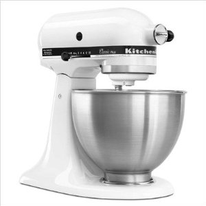 KSM75WH Classic Plus KitchenAid KSM75WH Classic Plus Tilt Head 4 1/2 Quart Stand Mixer