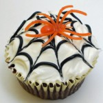 halloween spiderweb cupcake image1 150x150 Halloween Recipe Ideas