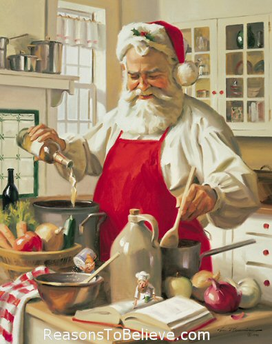 Santa cooking The 10 Best Gifts For The Home Cook