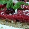 """Christmas Cranberry Curd Dessert Bars"""