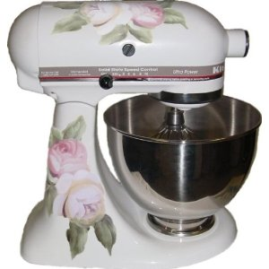 mixer floral Bling For Your KitchenAid Stand Mixer