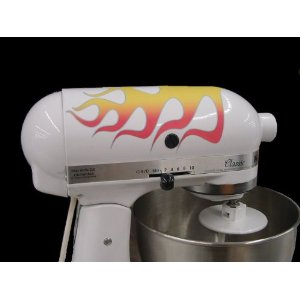 mixer with flames Bling For Your KitchenAid Stand Mixer