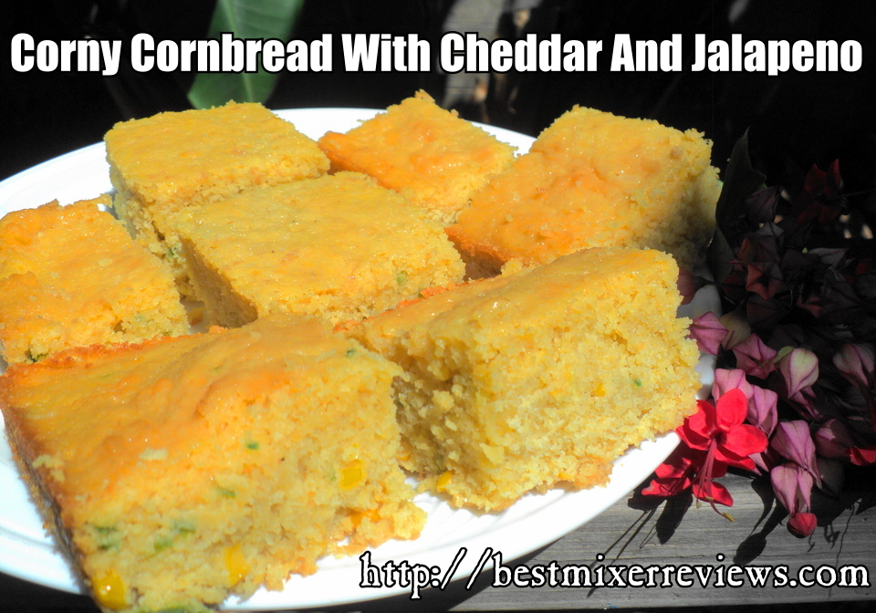roflbot15 Corny Cornbread with Cheddar and Jalapeno