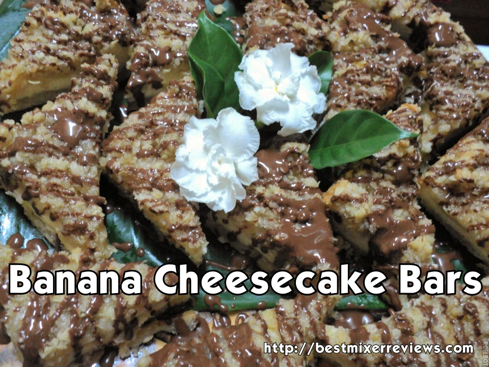 roflbot21 Banana Cheesecake Bars