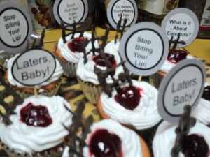 DSC02559 300x225 50 Shades Of Grey Cupcake Toppers