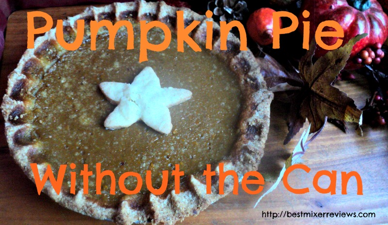 Pumpkin Pie Pumpkin Pie Without The Can